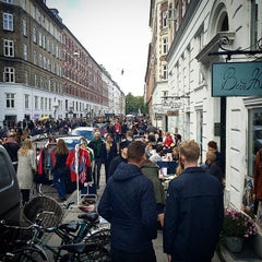 Photo taken at Jægersborggade by Sven H. on 9/21/2014