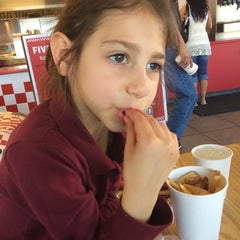 Photo taken at Five Guys by Randy F. on 3/14/2014