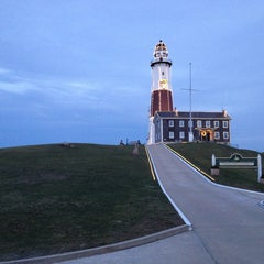 Photo taken at Montauk Point Lighthouse by Michael H. on 1/1/2013