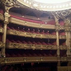 Photo taken at Opéra Garnier by Zeynep D. on 7/6/2013
