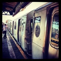 Photo taken at MTA Subway - Astoria Blvd/Hoyt Ave (N/Q) by Naoki T. on 5/2/2013