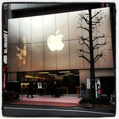 Photo taken at Apple Store 渋谷 by Naoki T. on 1/8/2013