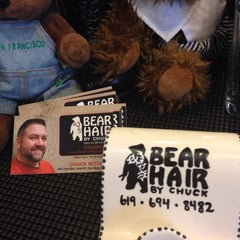 Photo taken at Bear Hair By Chuck by Chuck M. on 8/28/2014