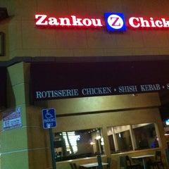 Photo taken at Zankou Chicken by Derick T. on 10/2/2012