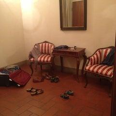 Photo taken at Residence Palazzo dei Ciompi Florence by Екатерина Ч. on 9/27/2012