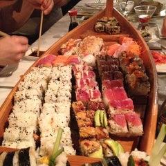 Photo taken at Sushi Love by Brandon K. on 12/5/2012