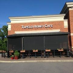 Photo taken at Tupelo Honey Cafe by Jim J. on 5/25/2013