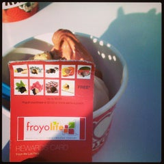 Photo taken at FroyoLife by Lisa on 1/13/2013