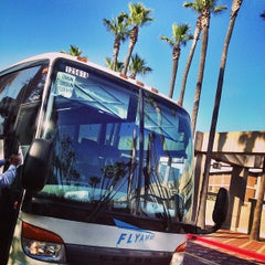Photo taken at FlyAway - Union Station to LAX by Carlos M. on 4/30/2013