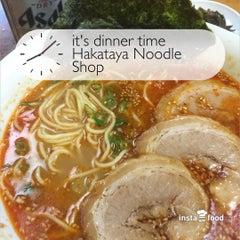 Photo taken at Hakataya Noodle Shop by Alan T. on 7/6/2015