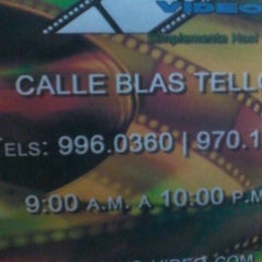 Photo taken at Video Plus. by Anilu S. on 10/27/2012