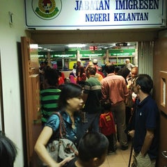 Photo taken at Pejabat Imigresen Negeri Kelantan by Alkid luqman A. on 10/17/2013