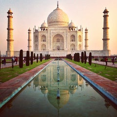 Photo taken at Taj Mahal | ताज महल | تاج محل by Johannes H. on 3/23/2013