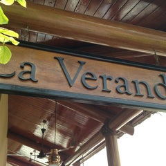 Photo taken at La Veranda by Jennifer F. on 4/6/2013