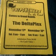 Photo taken at The DeltaPlex Arena by Terri N. on 11/17/2012
