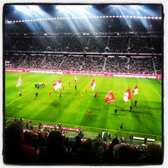 Photo taken at Allianz Arena by koenigex on 4/1/2013
