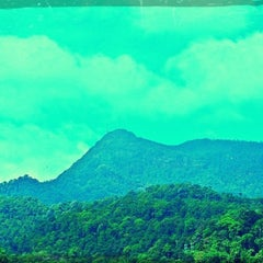 Photo taken at Gunung Jerai by Azie Farhanie B. on 11/17/2012
