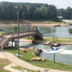 Photo taken at U.S. National Whitewater Center by Kyle M. on 9/21/2012