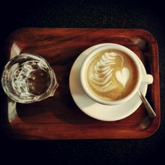 Photo taken at CaféArt by Jani L. on 10/1/2012