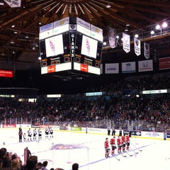 Photo taken at Pacific Coliseum by Bennett C. on 2/11/2013