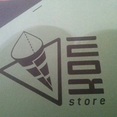 Photo taken at Koni Store by Raphael C. on 12/16/2012