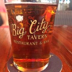 Photo taken at Big City Tavern by Justin I. on 5/3/2013