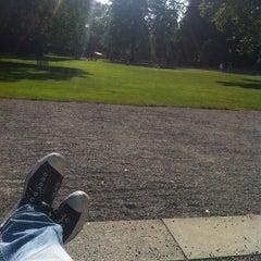 Photo taken at Stadtgarten by Serkan G. on 7/16/2013
