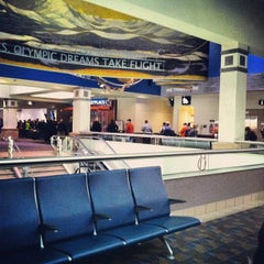 Photo taken at Colorado Springs Airport by Gabrielle B. on 3/7/2013