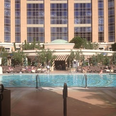 Photo taken at Palazzo Pool by Poria A. on 5/6/2013