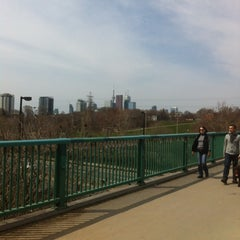 Photo taken at Discovery Walk DVP Footbridge by Andy H. on 4/28/2013