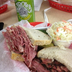 Photo taken at Pomperdale New York Style Deli by alanEATS on 3/20/2013