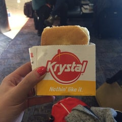 Photo taken at Krystal by Molly S. on 1/30/2014