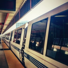 Photo taken at Walnut Creek BART Station by Rafael O. on 2/11/2013