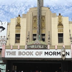 Photo taken at Pantages Theatre by Toby P. on 10/6/2012