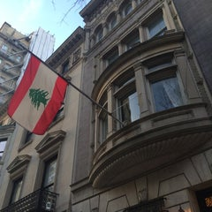 Photo taken at Consulate General Of Lebanon by Cesar R. on 4/14/2015