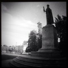 Photo taken at William McKinley Statue by José R. on 4/19/2014