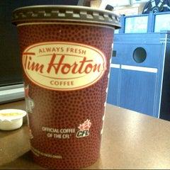 Photo taken at Tim Hortons by sarah T. on 11/22/2012