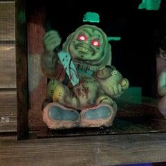 Photo taken at Spirit Halloween by David S. on 9/22/2012