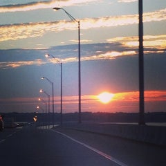 Photo taken at Henry Holland Buckman Bridge by Samantha A. on 3/2/2013