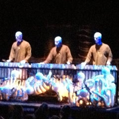 Photo taken at Blue Man Group at the Briar Street Theatre by Jay S. on 12/18/2012