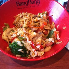Photo taken at BangBang Mongolian Grill by Krissy S. on 1/24/2013