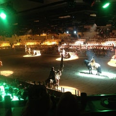 Photo taken at Medieval Times Dinner & Tournament by Tina C. on 3/15/2013
