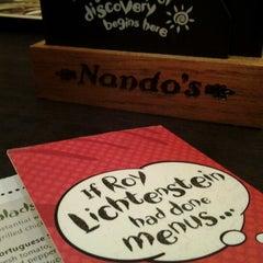 Photo taken at Nando's by Rhana R. on 10/20/2012