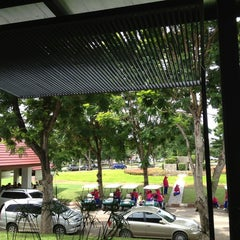 Photo taken at Mida Golf Club by Achisuka J. on 7/25/2013