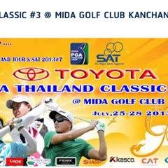 Photo taken at Mida Golf Club by Achisuka J. on 7/27/2013
