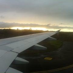 Photo taken at Aeropuerto La Florida (LSC - SCSE) by Macarena O. on 10/7/2012
