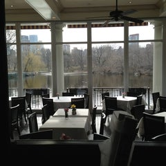 Photo taken at The Loeb Boathouse in Central Park by Pieter B. on 3/17/2013