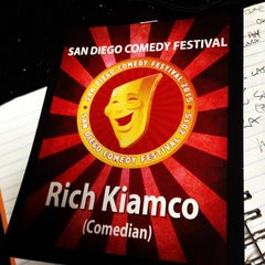 Photo taken at Comedy Palace San Diego by Rich K. on 1/17/2015