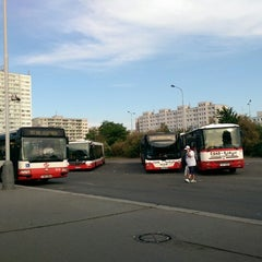 Photo taken at Háje (bus) by Honza H. on 6/10/2014