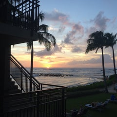 Photo taken at Ko'a Kea Hotel & Resort by RJ D. on 11/19/2015
